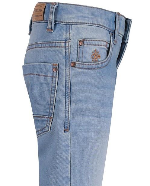 Jeans - Jeans slim bleu ciel, sweat denim