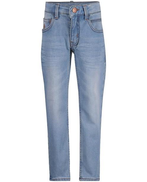 Jeans slim bleu ciel, sweat denim - null - JBC