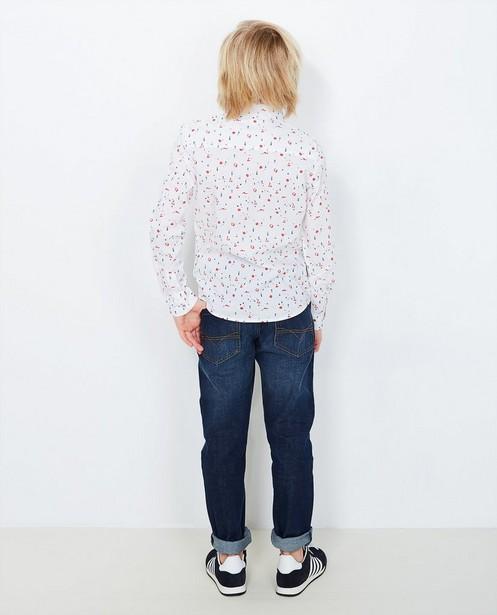 Donkerblauwe slim jeans - null - Besties