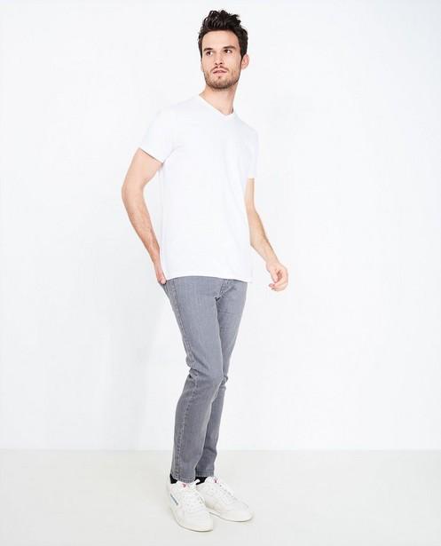 Grijze jeans - met slim fit - Iveo