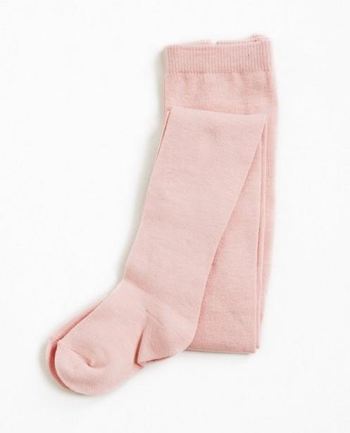 Collant uni, 2-7 ans - en coton mélangé stretchy - JBC