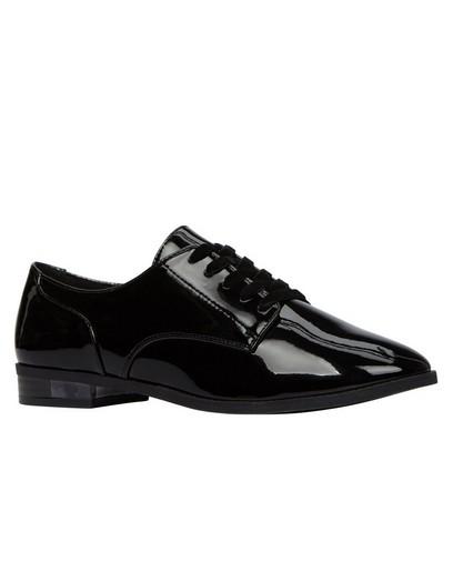 Zwarte laqué schoenen