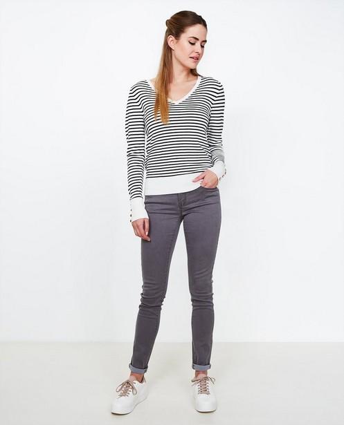 Jeans skinny gris FAYE - avec un peu de stretch - JBC