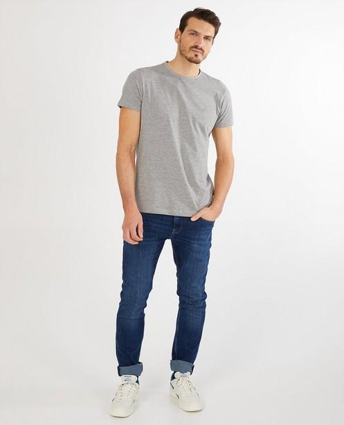 Grijs T-shirt van biokatoen - ronde hals - JBC