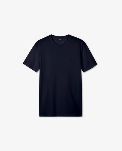 T-shirt noir en coton bio