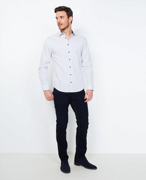 Jeans fitted straight BRANDON - bleu nuit - JBC