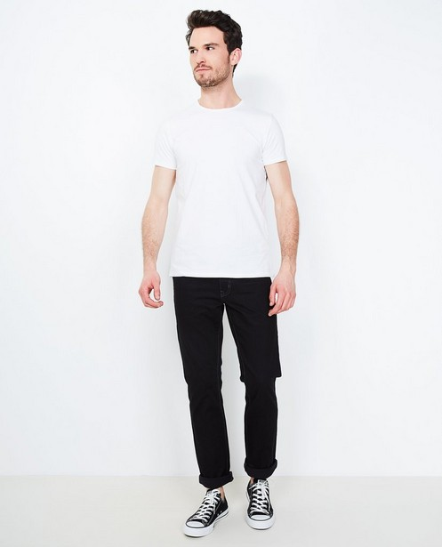 Zwarte jeans BRANDON - fitted straight - JBC