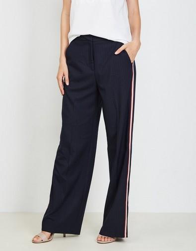 Nachtblauwe pantalon
