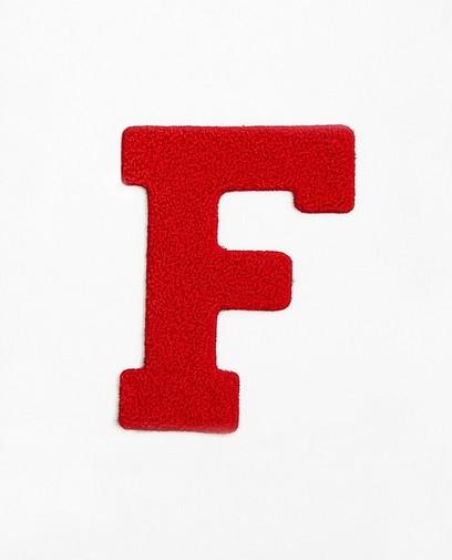 Lettre F rouge – grande