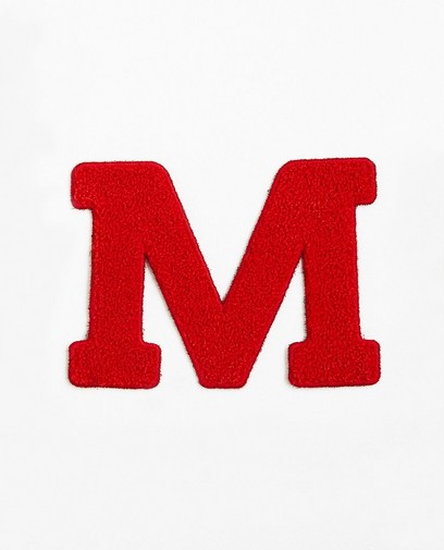 Lettre M rouge - grande