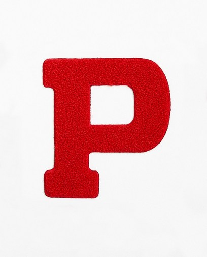 Lettre P rouge - petite