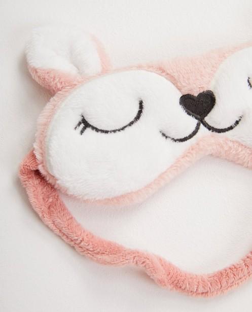 Gadgets - Masque de sommeil rose