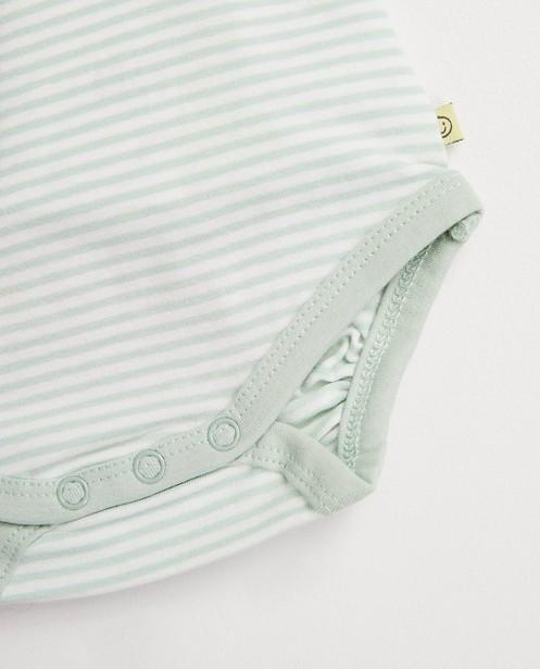 Onesies - Body rayé, 100% coton