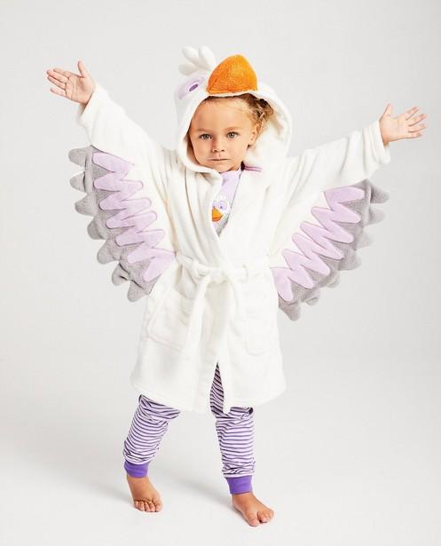 Witte kamerjas Fabeltjeskrant - met vleugels - Fabeltjeskrant
