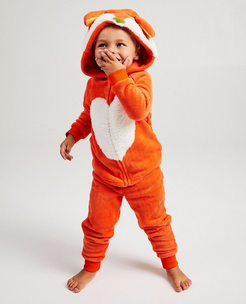 Oranje pyjama De Fabeltjeskrant - Lowieke de Vos - Fabeltjeskrant