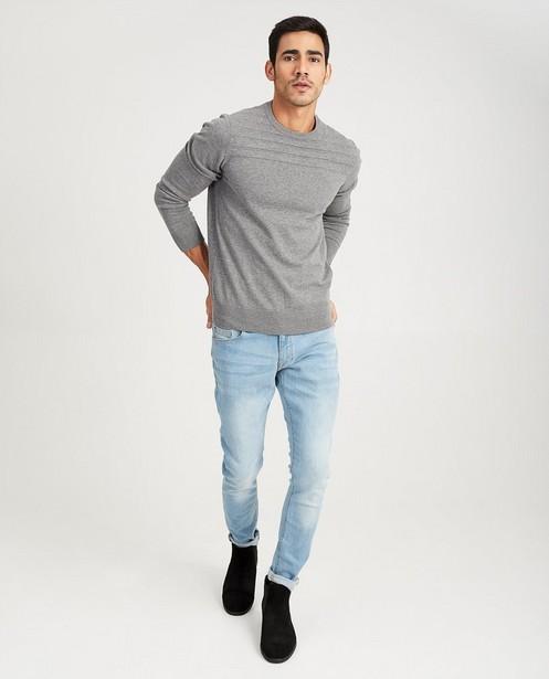 Lichtblauwe jeans - met wassing - JBC