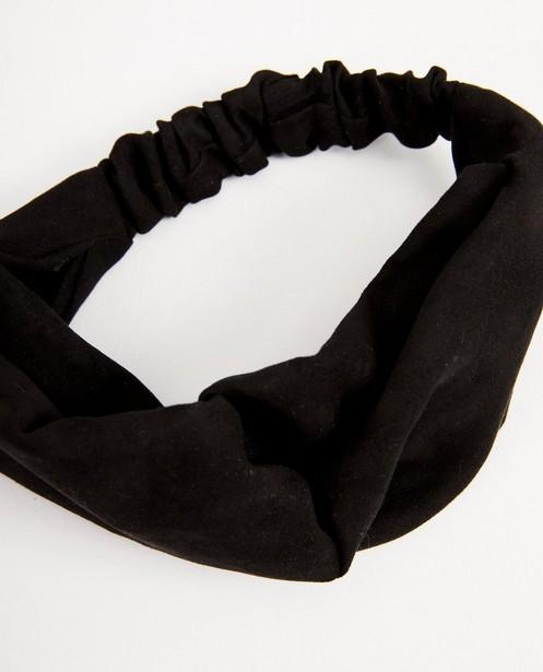 Breigoed - Zwarte haarband