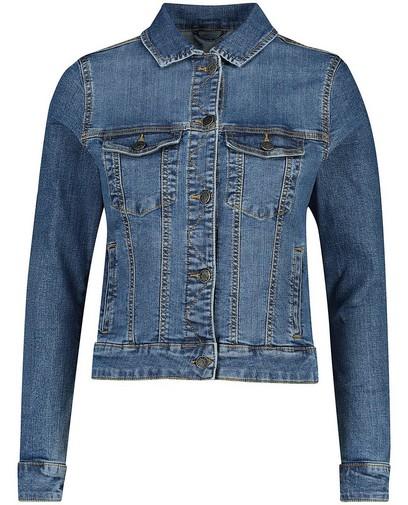 Blauw jeansjasje Sora