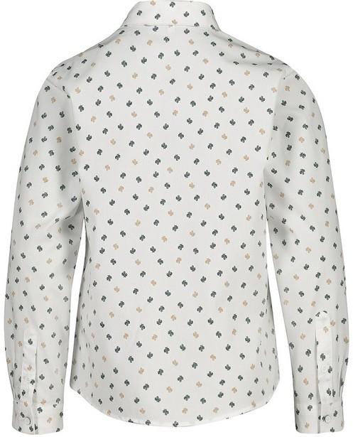 Hemden - Wit hemd met das Communie