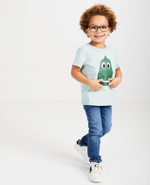 T-shirt vert d'anniversaire - imprimé, happy birthday - Kidz Nation