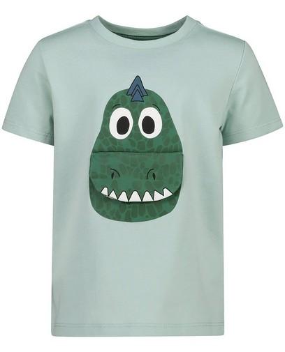 T-shirt vert d'anniversaire