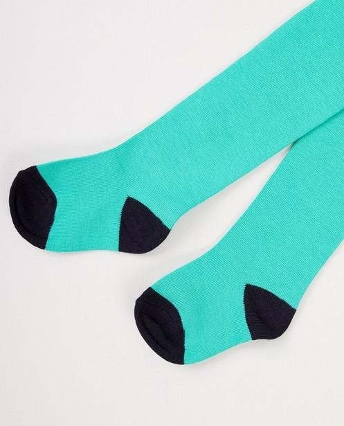 Collant vert - et bleu foncé - JBC