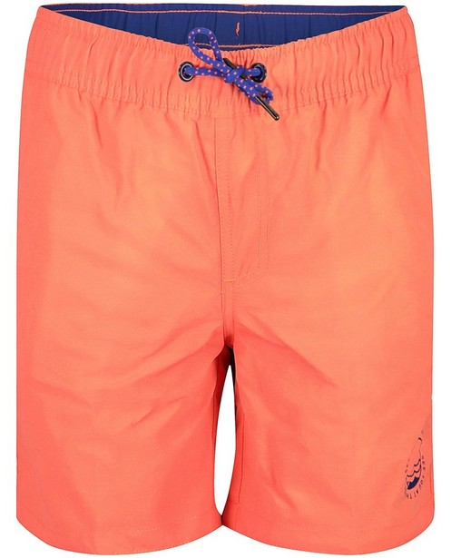 Short de bain rose fluo - et bleu - Fish & Chips
