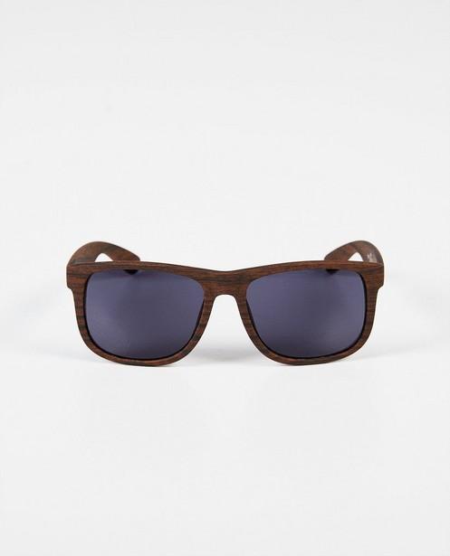 Lunettes de natation - brunes, look bois - JBC