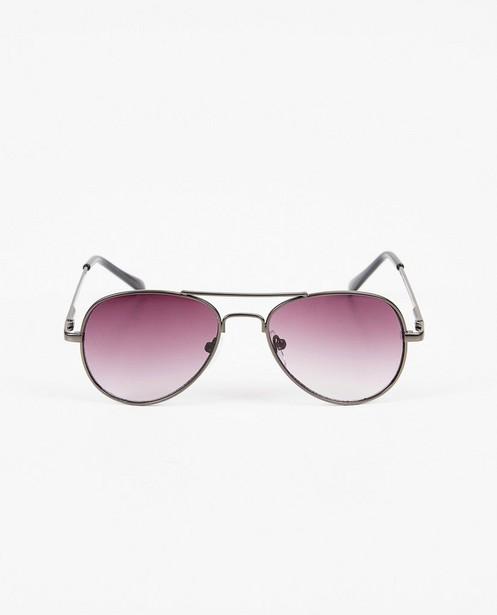 Lunettes de soleil noires aviateur - lunettes-aviateur - JBC