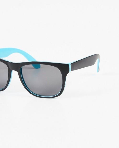 Zonnebrillen - Zwart-blauwe zonnebril
