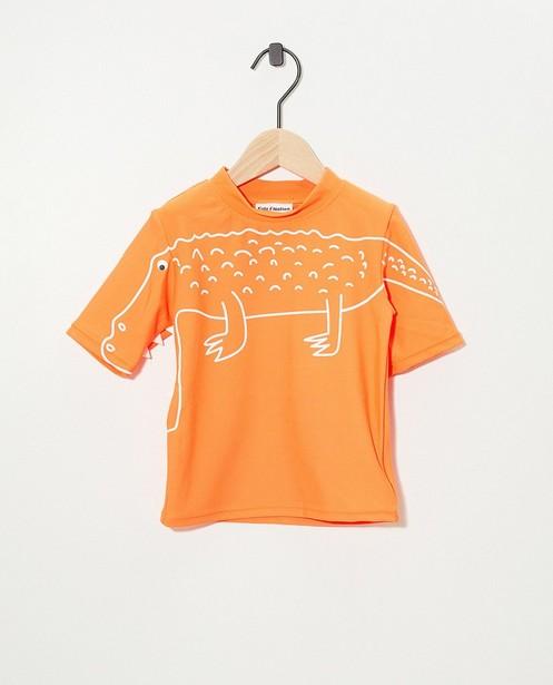 T-shirt de bain fluo avec protection anti UV - avec crocodile - Kidz Nation