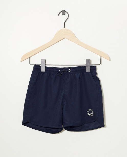 Short de natation bleu - avec filet - Fish & Chips