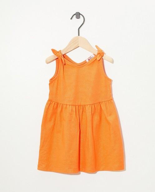 Robe orange, rayures BESTies - fil métallisé - Besties