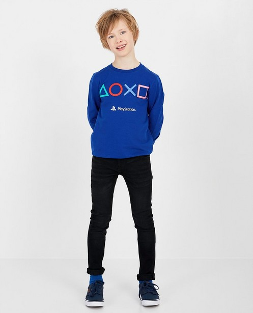 Sweater met print Playstation - in blauw - Playstation