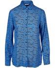 Hemden - Blauw hemd van EvoVero viscose I AM