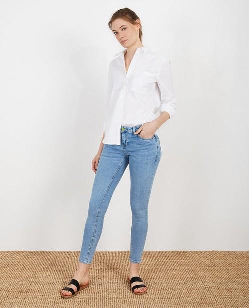 Blauwe jeans van biokatoen I AM - #agreenjourney - I AM