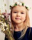 Couronne de fleurs - Communion - blanche et verte - Milla Star