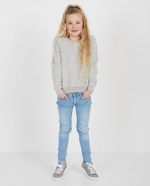Blauwe jeans van biokatoen I AM - #agreenjourney - I AM