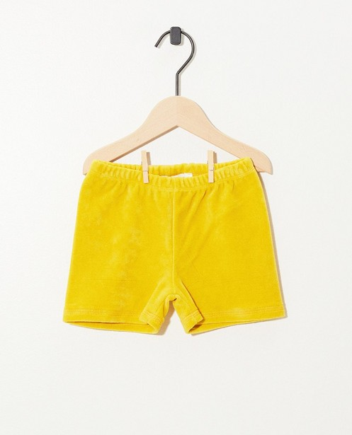 Short en éponge jaune Onnolulu - stretch - Onnolulu