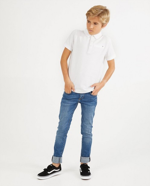 Skinny bleu clair JOEY, 7-14 ans - avec du stretch - JBC
