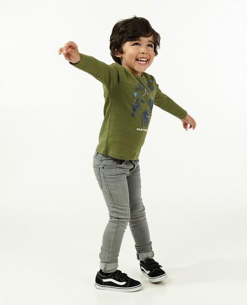 Grijze skinny JOEY, 2-7 jaar - stretch - JBC