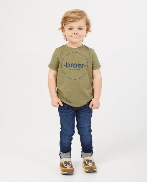 Donkerblauwe skinny JOEY, 2-7 jaar - stretch - JBC