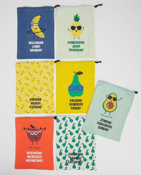 Handtassen - Set van 7 outfitzakjes