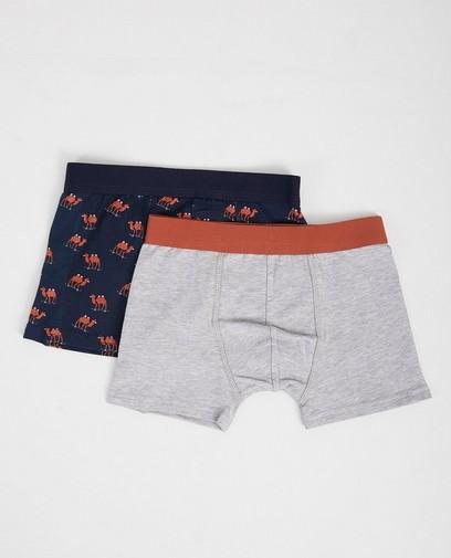 Ensemble de 2 paires de boxer-shorts