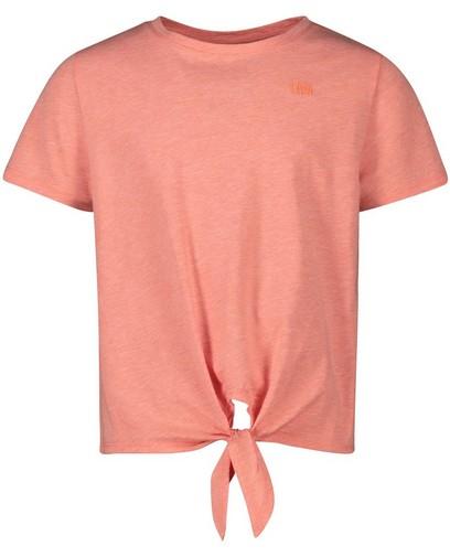 Roze T-shirt van biokatoen I AM