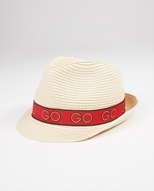 Chapeau «Go Go Go» tressé - enfants - #familystoriesjbc - Familystories