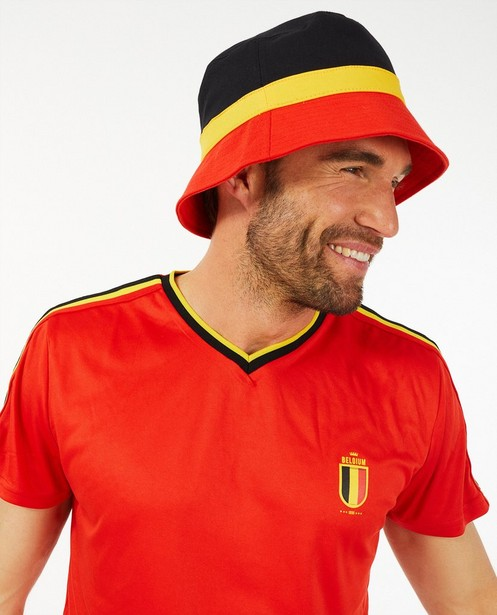 Chapeau noir, jaune et rouge - hommes - Family stories - Familystories