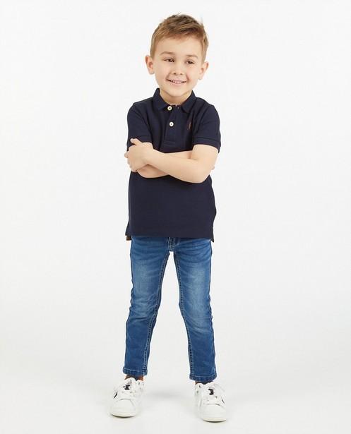 Jeans slim bleu Simon, 2-7 ans - taille ajustable - JBC