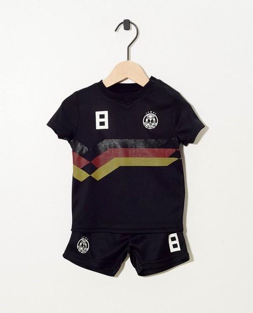 Tenue de foot noire pour bébés - n° 8 - JBC