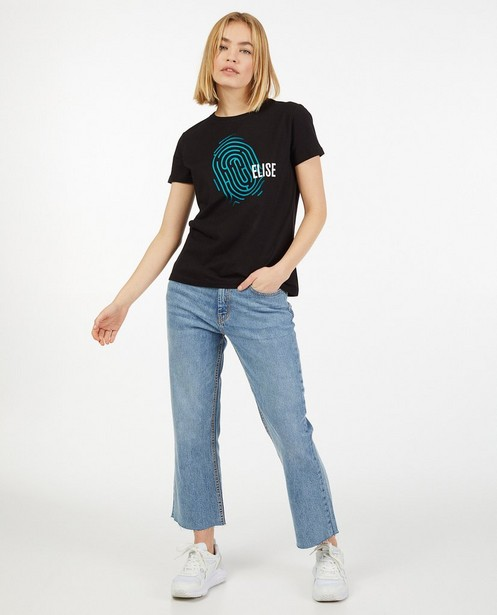 Zwart De Mol-shirt, Studio Unique - personaliseerbaar - De Mol